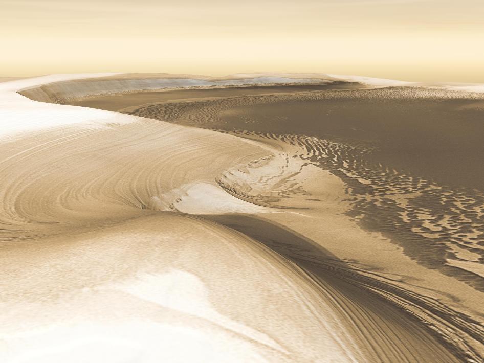 Chasma Boreale, Mars