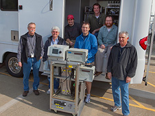 Team members (L to R): Bruce Anderson, Eddie Winstead, Andreas Beyersdorf, Lee Thornhill, Bobby Martin, Luke Ziemba and Charles Hudgins