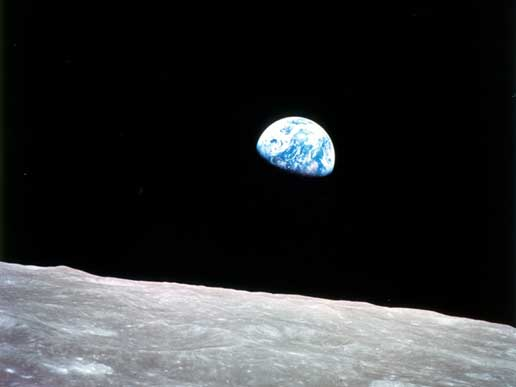 Earthrise via NASA (http://www.nasa.gov)