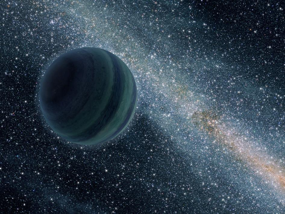 अंतरिक्ष की गहरायी मे भटकता एक अकेला ग्रह