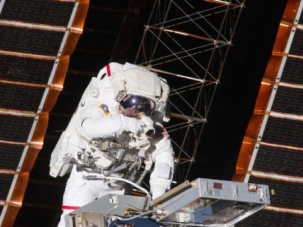 First Spacewalk of STS-134