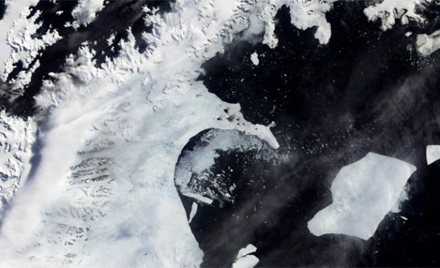disintegration of Larsen B ice shelf