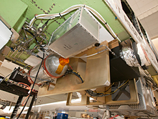 Diode Laser Hygrometer mounted in the Global Hawk's payload bay