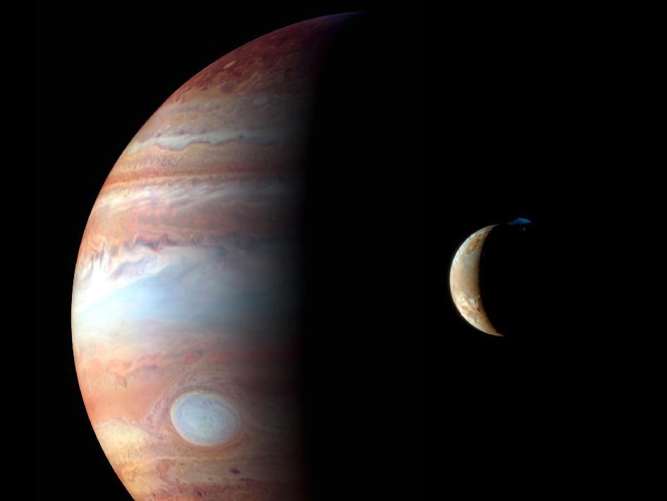 Jupiter-Io Monage