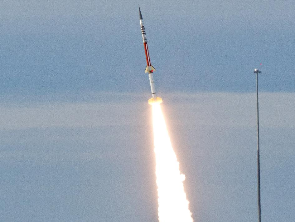 Wallops Launch this Morning