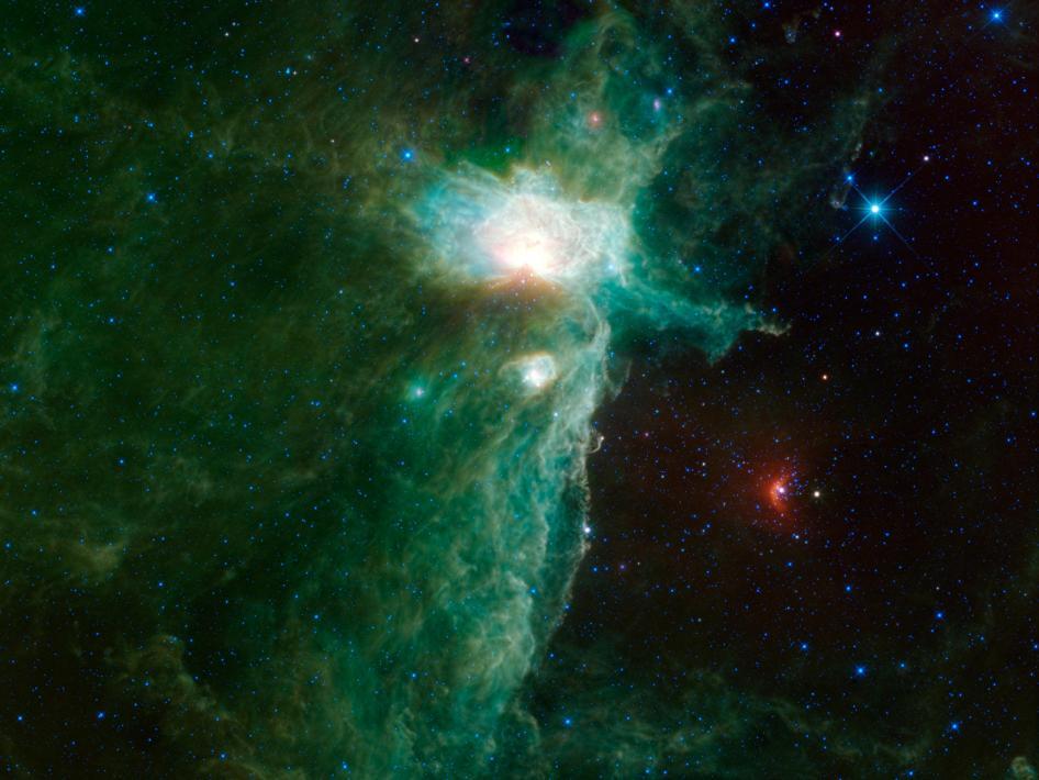 La Nebulosa de la Llama
