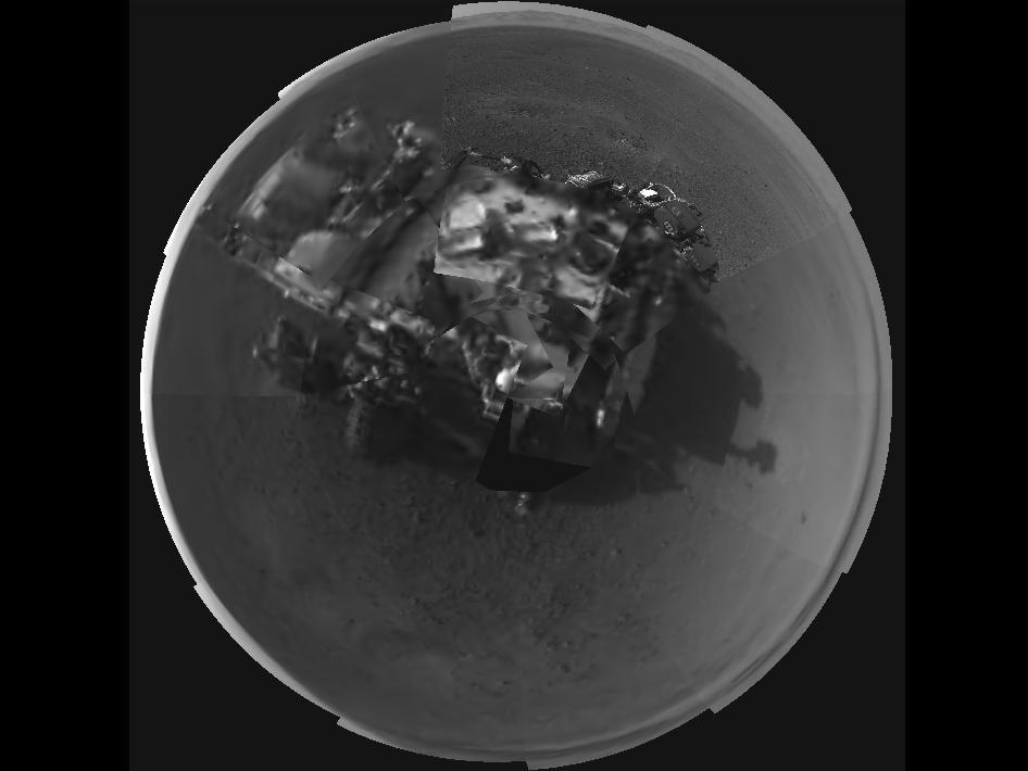 La curiosidad en Marte