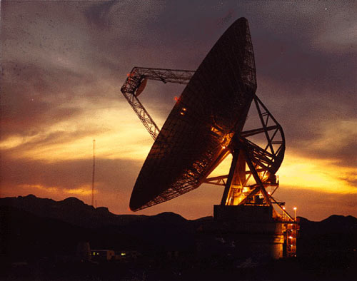 The Goldstone Deep Space Communications Complex, located in the Mojave Desert in California, is one of three complexes which comprise NASA's Deep Space Network (DSN). The DSN provides radio communications for all of NASA's interplanetary spacecraft and is also utilized for radio astronomy and radar