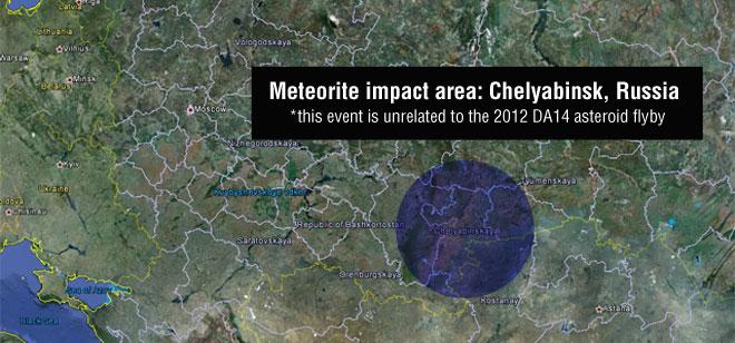 Russian Chelyabinsk Meteor largest since 1908 Tunguska event