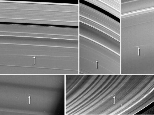Meteors Meet Saturn's Rings - NASA