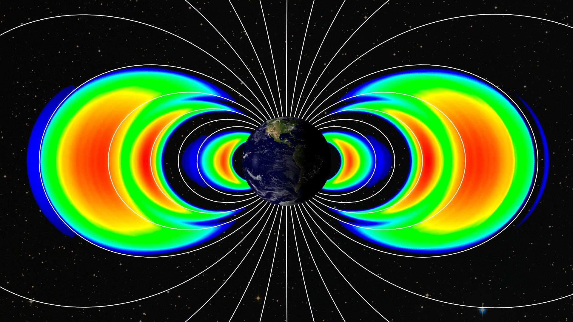 Nasa Probes Studying Earth S Radiation Belts To Celebrate