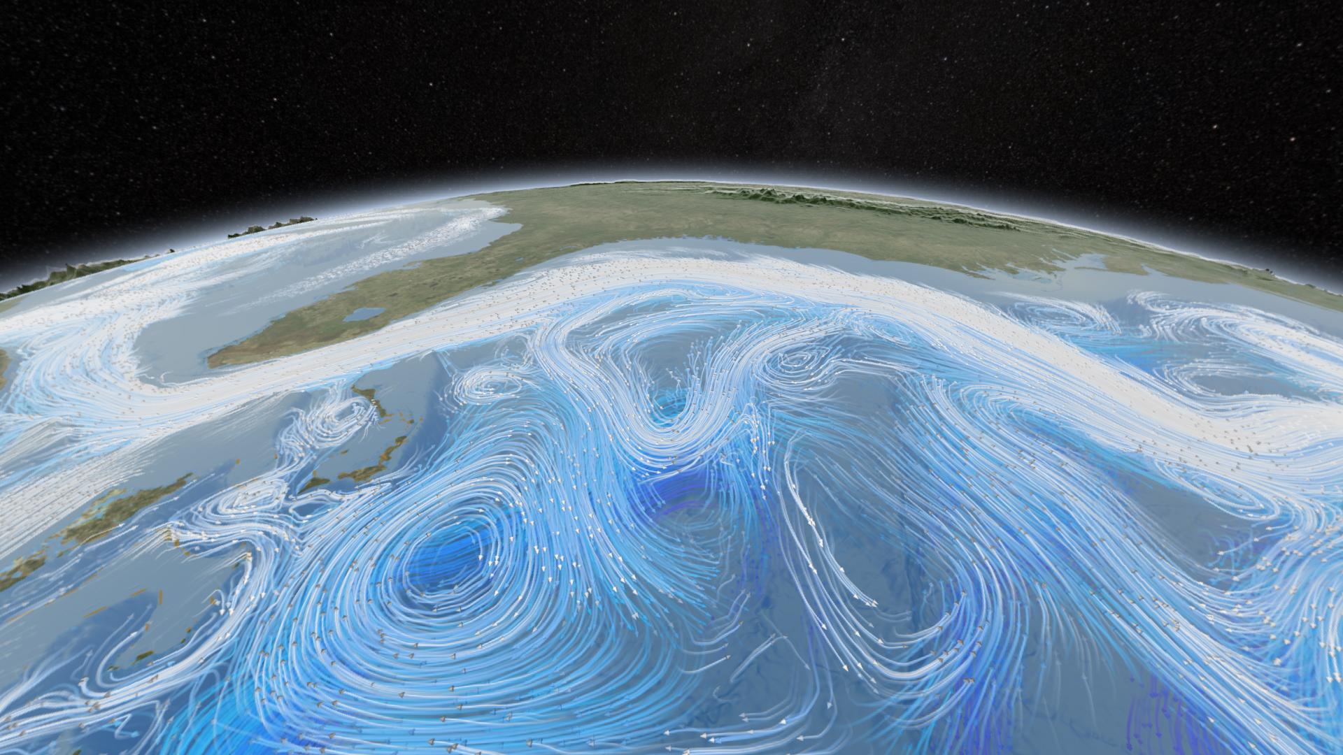 Nasa S Scientific Visualization Studio Wins First Place In