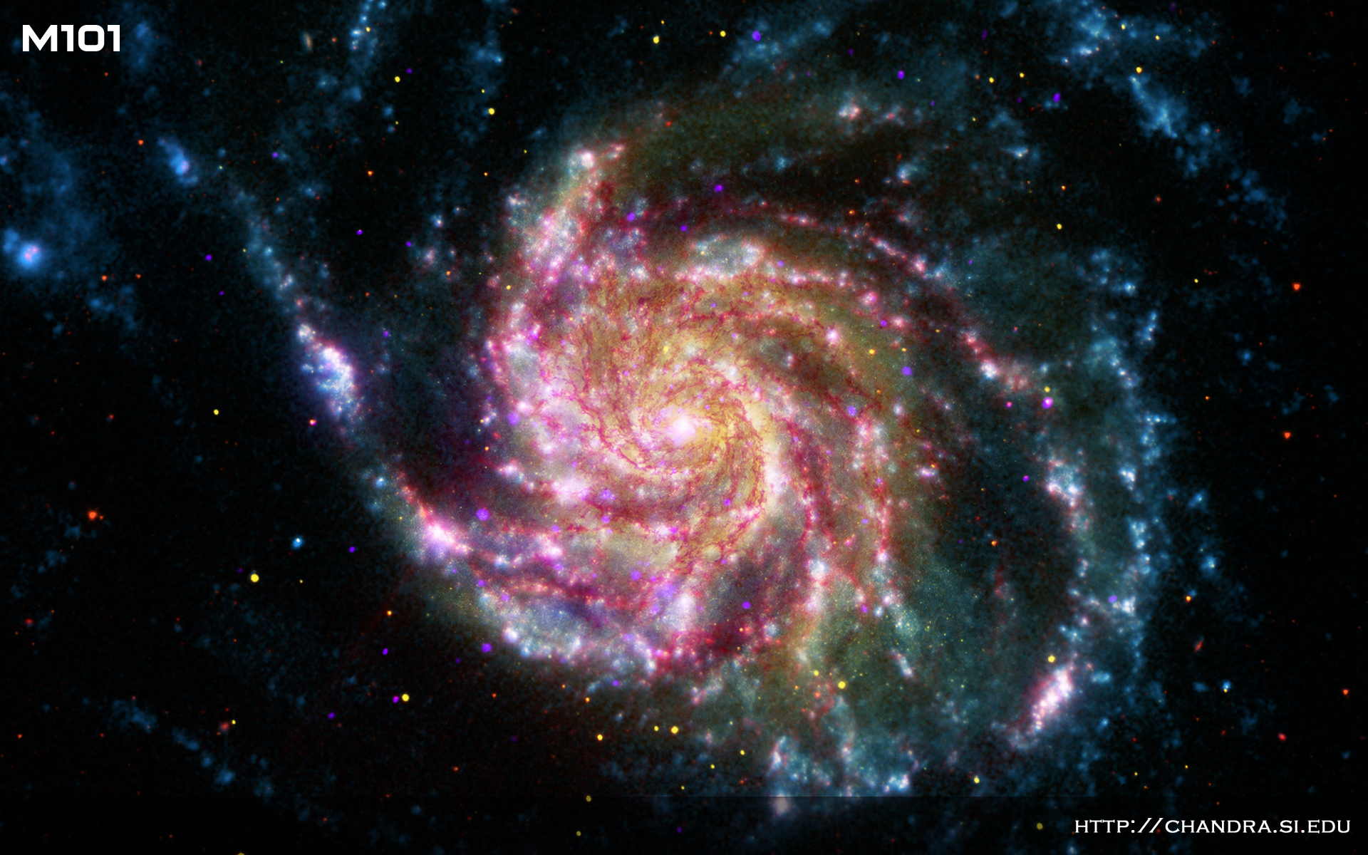 Image result for pinwheel galaxy