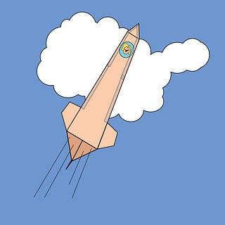 Paper Pop Rocket