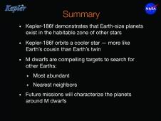Barclay summary slide.