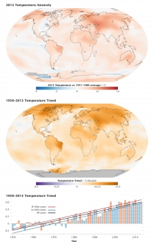 temperature maps