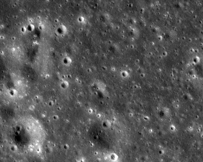 LROC close-up image of the moon from Feb. 12, 2012