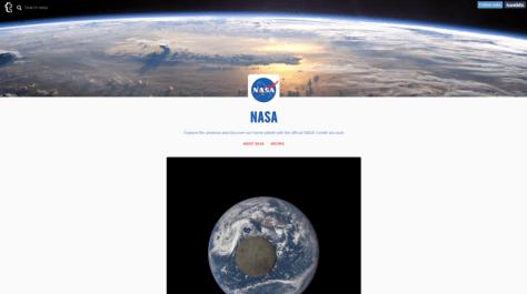 NASA now is on Tumblr