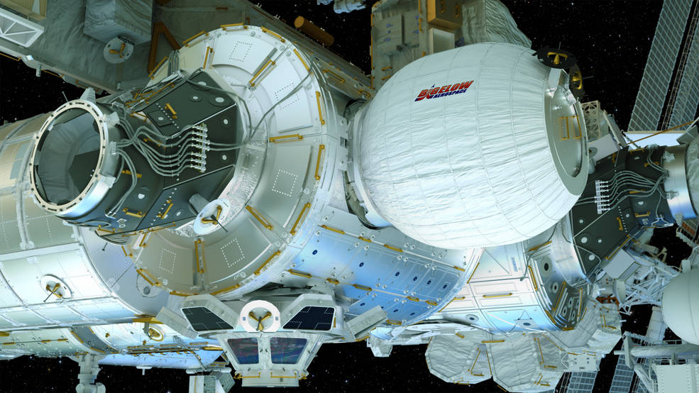 Concept image of the Bigelow Expandable Activity Module (BEAM)