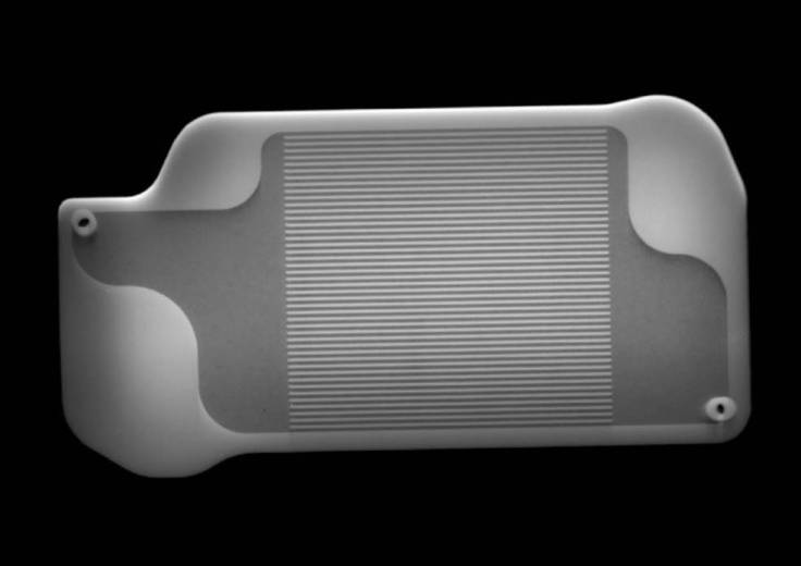 Interior of a 3D-printed heat exchanger in Perseverance's MOXIE instrument