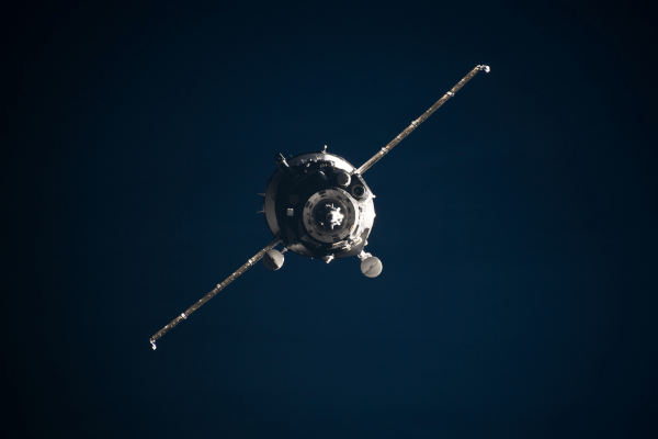 soyuz spacecraft in orbit