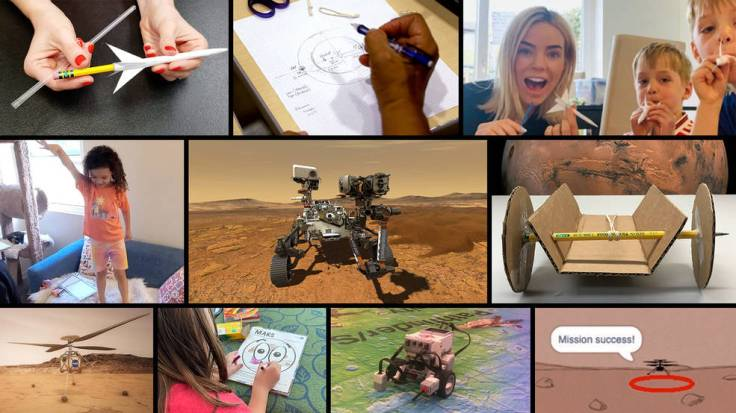 The Mission to Mars Student Challenge provides a fun and engaging way for students everywhere to join NASA as the Mars 2020 Pers
