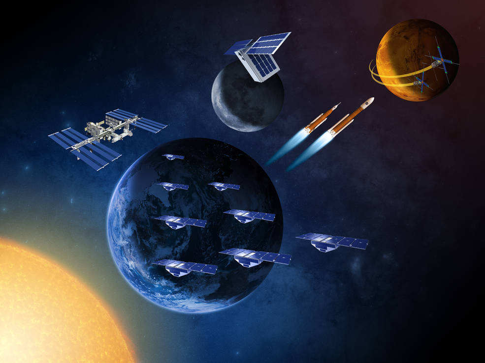 Small spacecraft and satellites are helping NASA advance scientific and human exploration.