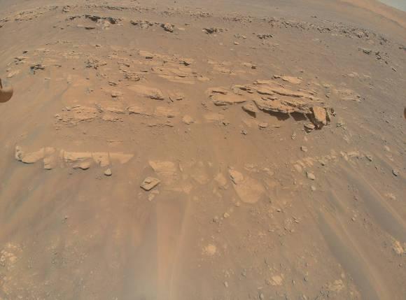 """An area the Mars Perseverance rover team calls """"Faillefeu"""""""