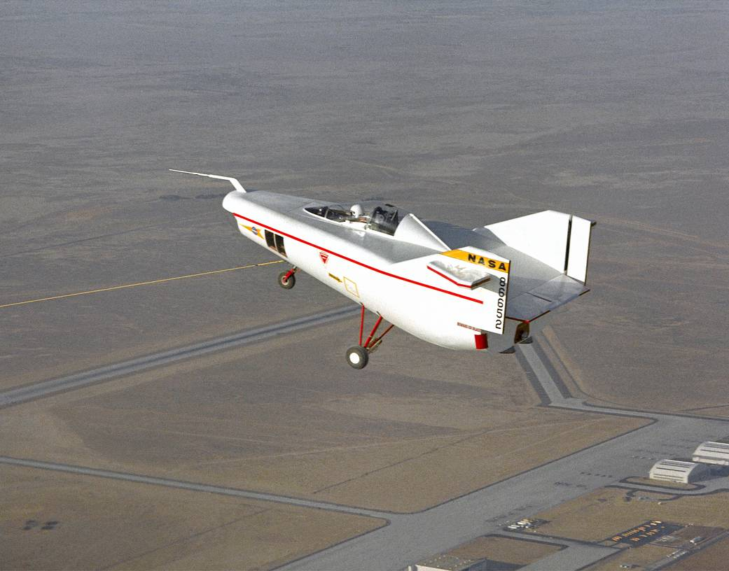 Early Tow Test of the M2-F1 Lifting Body
