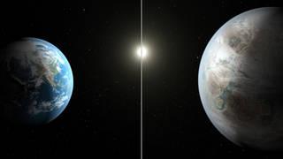 Kepler-452b and Earth