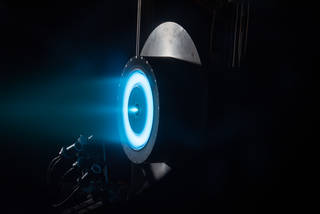 Image of the HERMeS thruster