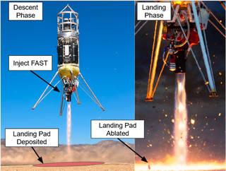 Masten Rocket Launch