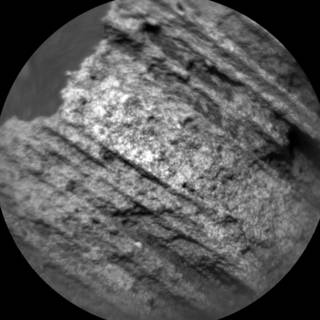 Image from the Chemistry and Camera (ChemCam) instrument on NASA's Curiosity Mars rover