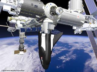 Sierra Nevada Corp.'s Dream Chaser spacecraft