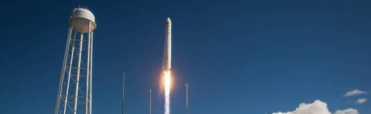 Cygnus Launch at Wallops Island