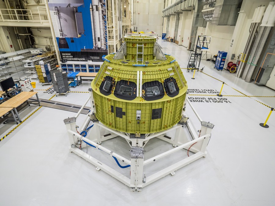 Orion Crew Module Pressure Vessel featured image