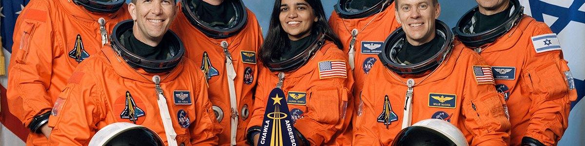 STS-107 Crew Photo