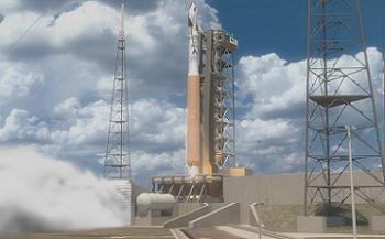 Dream Chaser launching on Atlas V