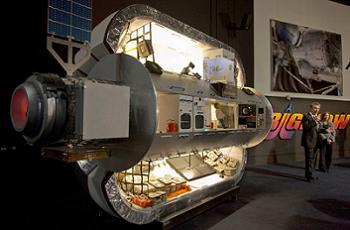 Inside a Bigelow Moon Module