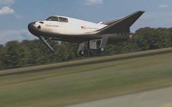 Flare prior to landing