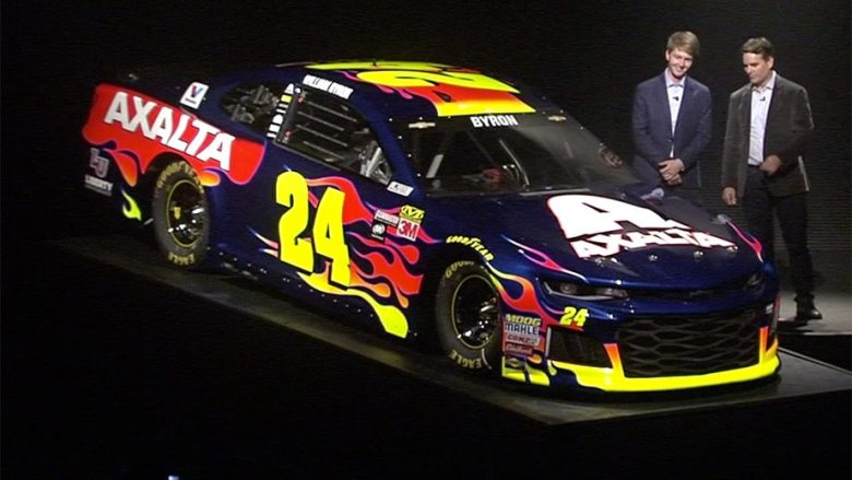 2018 Daytona 500: William Byron No. 24 paint scheme | NASCAR.com