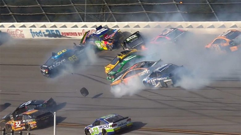 Talladega update: 'Big One' collects playoff drivers in 'Dega | NASCAR.com