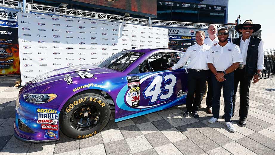Bubba Wallace Richard Petty Motorsports Announce New