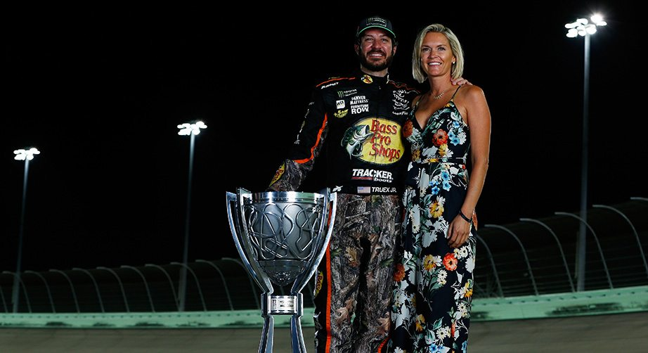 Sherry Pollex On Truex Winning Title For Her Too