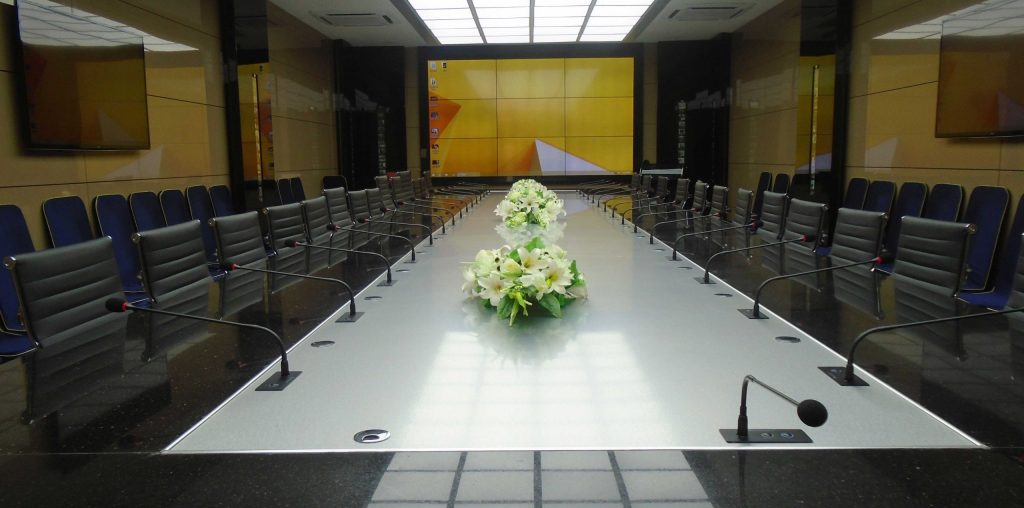 Audio conference video wall & camera system in karachi