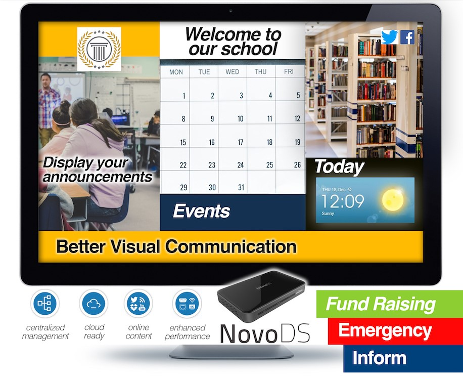Digital Signage solution from NASCO