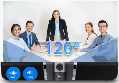 wide field of view of usb conference camera
