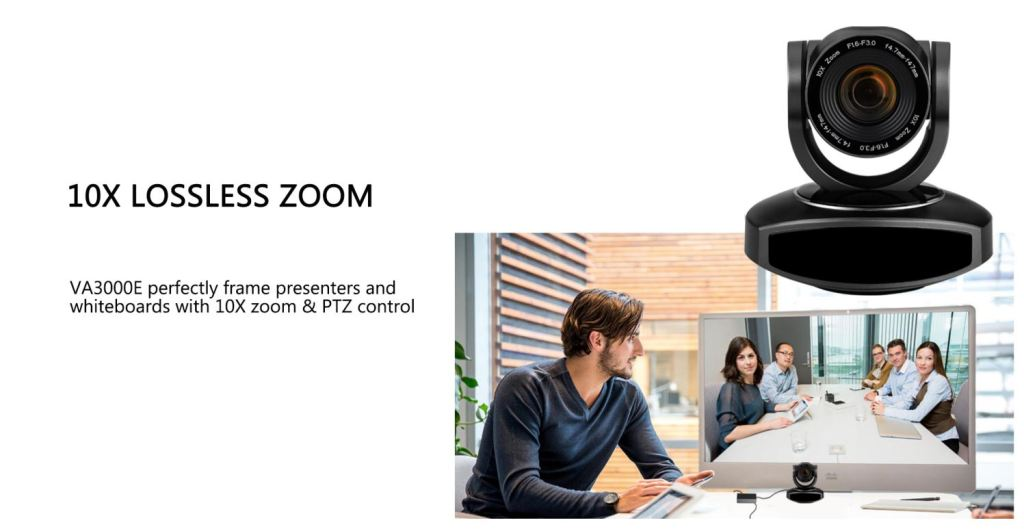 10x PTZ zooming video conferencing camera in Pakistan