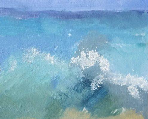 ocean study 6 in oil