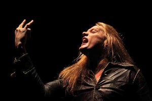 Sebastian Bach performing at The Palladium in Worcester, MA on F